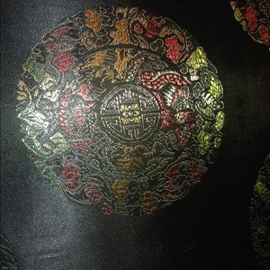 Asian detailed handbag